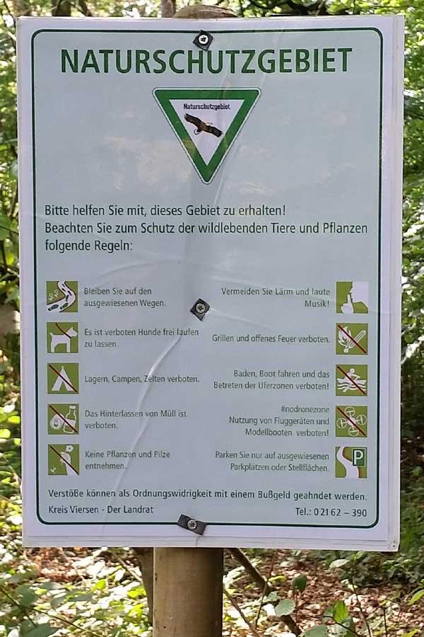 Naturschutzgebiet ... auch für Rentner und Hundebesitzer !