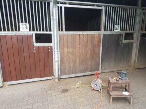 Stall renovieren