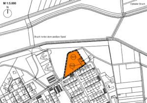 Lageplan Wohnmobilstellplatz Venekotensee